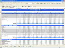 monthly expenses spreadsheet template excel empeve spreadsheet