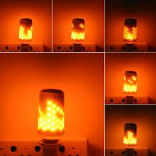 halloween pathway lights e27 110v 220v fire flame led bulb fire effect lamp novelty