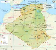 Africa Google Maps by Algeria Map Map Of Algeria