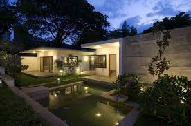 traditional india house design iwth contemporary lighting fixtures