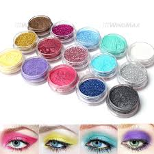 amazon com 15 warm color glitter shimmer pearl loose eyeshadow