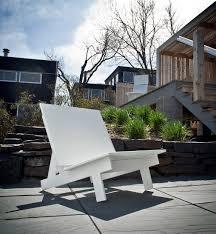 Polyethylene Patio Furniture by Taavi Modern Outdoor Chair By David Salmela Loll Designs
