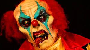 psycho killer clown halloween costume and latex mask youtube