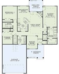 craftsman style house plan 3 beds 2 00 baths 1591 sq ft plan 17