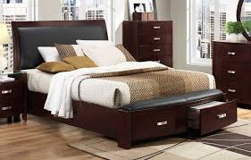 Bedroom Furniture Espresso Finish Homelegance Lyric Platform Bedroom Set Dark Espresso B1737nc Bed