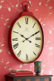 25 best red wall clock ideas on pinterest red clock midcentury
