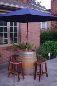 Tablecloth For Umbrella Patio Table by Best 25 Table Umbrella Ideas Only On Pinterest Barrel Table