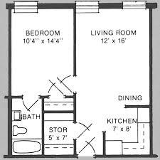 One Room Apartment Floor Plans 500 Sqft 2 Bedroom Apartment Ideas Square Foot Apartment Layout