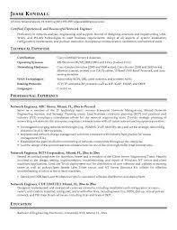 Network Engineer Resume Sample   Job and Resume Template Job and Resume Template