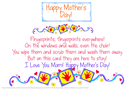 Mother Day Quotes by 30 Touching Mothers Day Poems From Kids