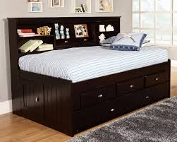 fascinating ikea trundle bed with gable storage headboard using