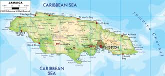 Caribbean Sea On Map by Maps Of Jamaica Map Library Maps Of The World