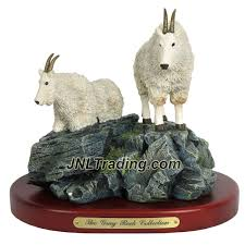 amy and addy the gray rock collection series wildlife animal resin