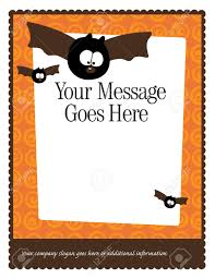 free halloween invite templates free halloween border templates u2013 fun for halloween