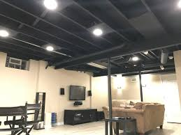 Black Ceiling Basement by Peachy Design Ideas Paint Basement Ceiling Top 25 Best Ceiling