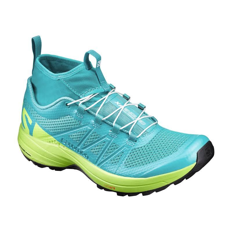 Salomon XA Enduro Trail Running Shoe Ceramic/Lime Punch/Black 7.5 889645196626