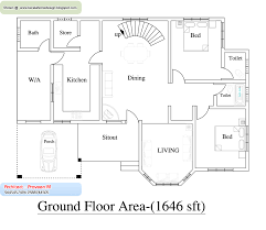 trendy 3000 sq ft modern house plans 3 for bungalow arts floor