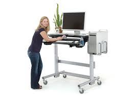 adjustable computer standing desk 14 terrific standing computer