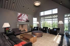 marvelous concrete fireplace mantel kitchen midcentury with white