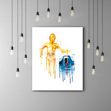 Star Wars Kids Rooms by R2d2 And C3po Star Wars Kids Room Poster Star Wars C3po R2d2 Art