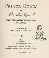cover of prince dorus book