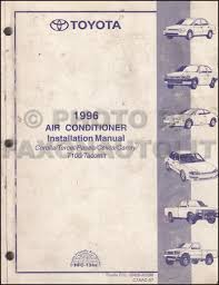 1996 toyota camry repair shop manual original