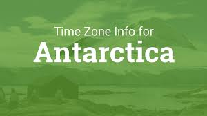 Time Zone Map United States Of America by Time Zones In Antarctica