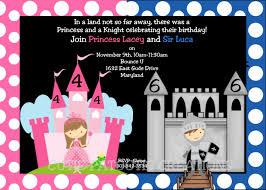 1st birthday princess invitation princess knight birthday invitation princess knight birthday party