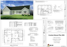 Two Car Garage Size by 100 Garage Plans Online House Plan Drawing Software Garage