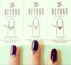 cuticle tattoos because why should nails get all the glory