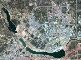 Ghost towns of China  Satellite images show cities lying