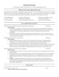 Resume Examples Retail Manager by Chronological Resume Sample