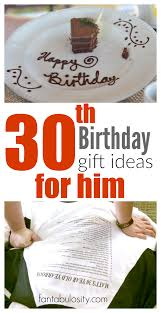 Housewarming Gift Ideas For Couple by 30th Birthday Gift Ideas For Him Fantabulosity