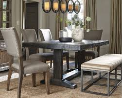 The New Urban Farmhouse Chic Ashley Furniture HomeStore - Ashley furniture dining table with bench