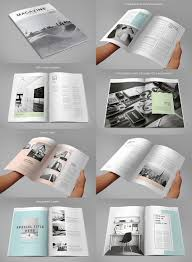 Designs by 20 Magazine Templates With Creative Print Layout Designs