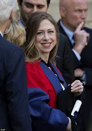 Chelsea Clinton graduates doctorate program at Oxford and her     Daily Mail