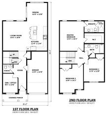 home design modern 2 story house floor plans beach style large