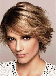 layered hairstyles for short hair short hairstyles with long bangs
