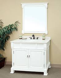 White Bathroom Vanity With Granite Top by Bellaterra Home 205042 A White Bathroom Vanity Antique