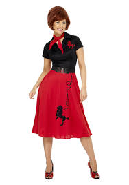 style halloween costumes poodle skirts