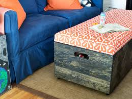 Instructions On How To Make A Toy Chest by Make A Herringbone Wood Toy Box Storage Ottoman Hgtv