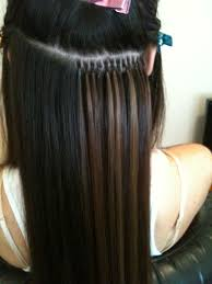 Human Hair Glue In Extensions by Olivia Christensen Virgin Human Hair Extensions Quality