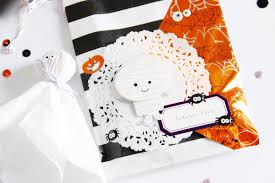 halloween kids gifts scattered confetti some cute halloween gifts or the importance
