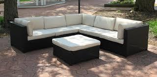 White Resin Wicker Outdoor Patio Furniture Set - amazon com cc outdoor living black resin wicker outdoor
