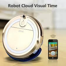 Cleaning Robot by Jisiwei I3 Robot Vacuum Cleaner Floor Sweeper Mop Hd Camera App