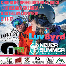LuvByrd   Dating for the Outdoor Enthusiast  Chairlift Speed Dating Is Back