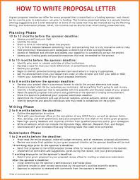Letter Business Proposal 6 how to make a great business proposal project proposal
