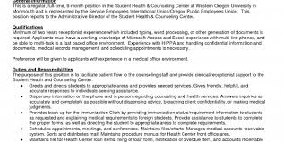 Sample Of Receptionist Resume by Receptionist Resume Example 9 Free Word Pdf Documents Download