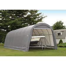 Canopy Carports Shelterlogic 12 X 24 X 10 Ft Instant Garage Heavy Duty Canopy