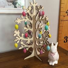 Easter Decorations For Home Wooden Easter Trees U2013 Happy Easter 2017